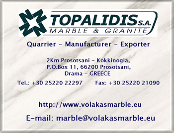 Supplier of Volakas Marble